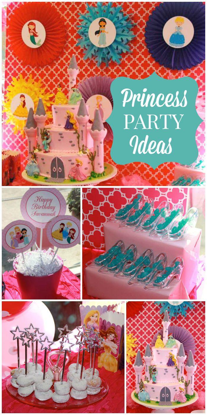 Disney Birthday Decorations  Princess Birthday on Pinterest