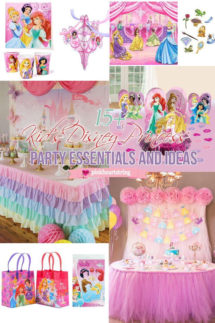 Disney Birthday Decorations  Best 25 Disney princess party ideas on Pinterest