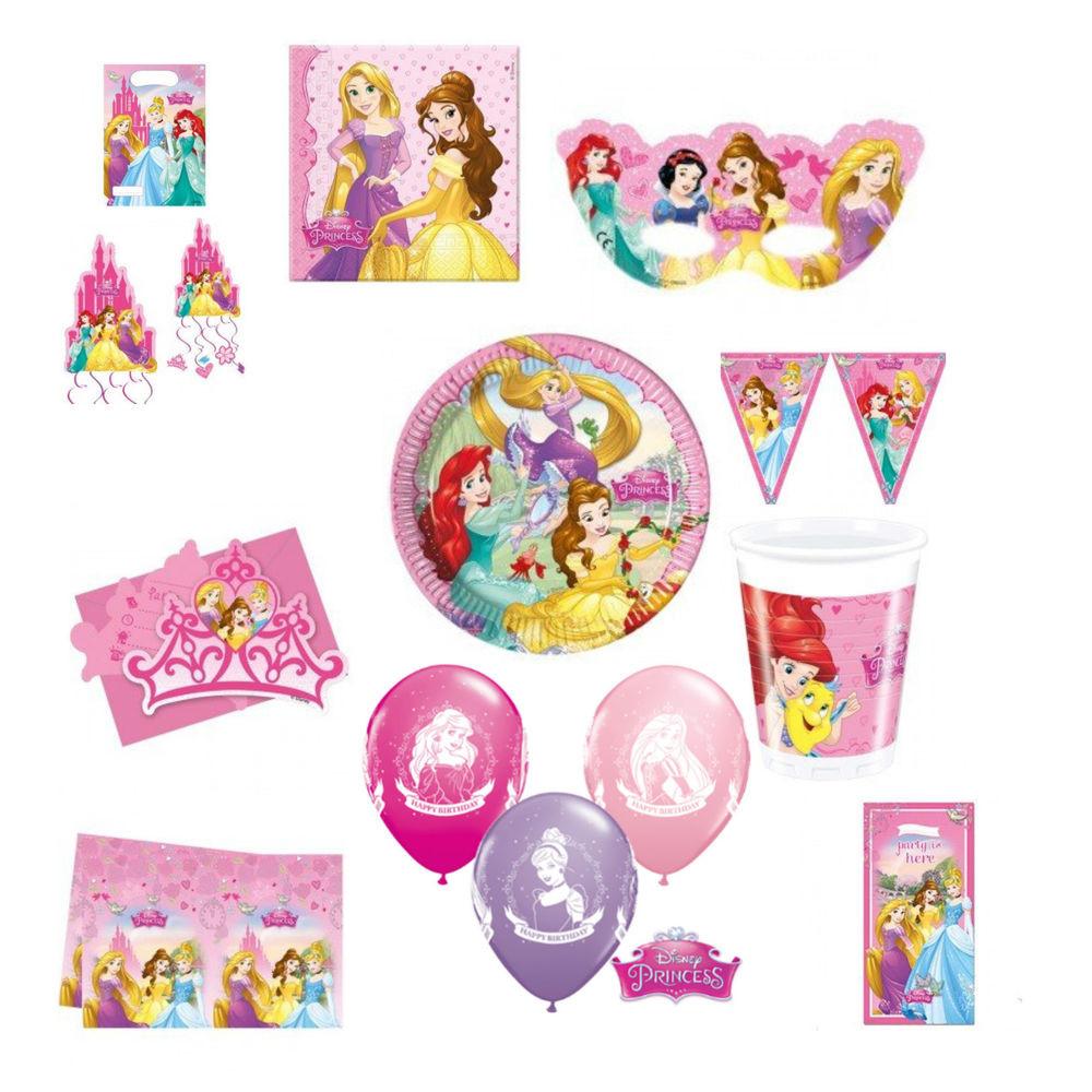Disney Birthday Decorations  Disney Princess Party Tableware Birthday Supplies Girls