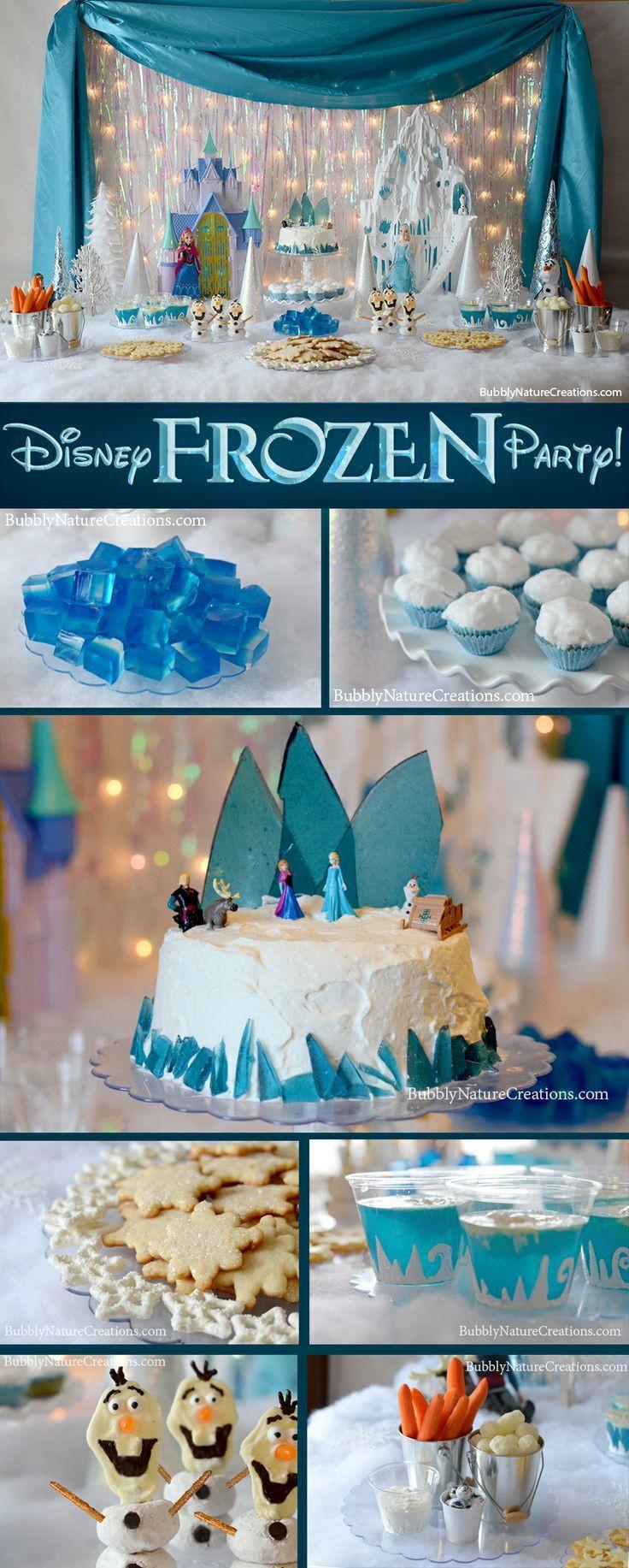 Disney Birthday Decorations  Disney Frozen Birthday Party Theme