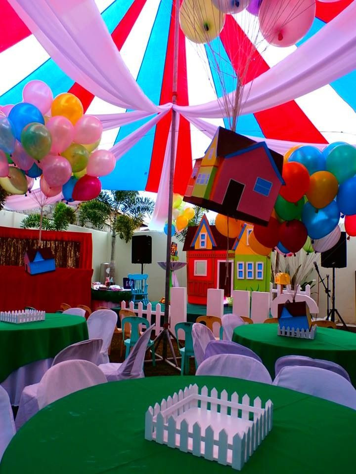 Disney Birthday Decorations  Floating house of disney up party theme Party