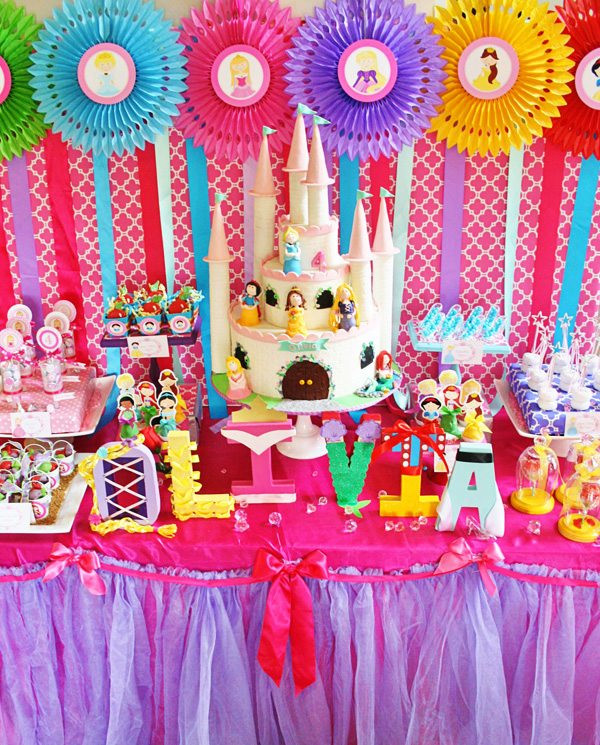 Disney Birthday Decorations  Disney Princess Parties 15 Perfect Party Ideas For Kids