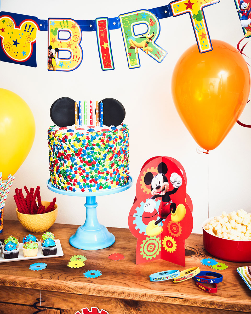 Disney Birthday Decorations  A Colorful Mickey Mouse Birthday Party