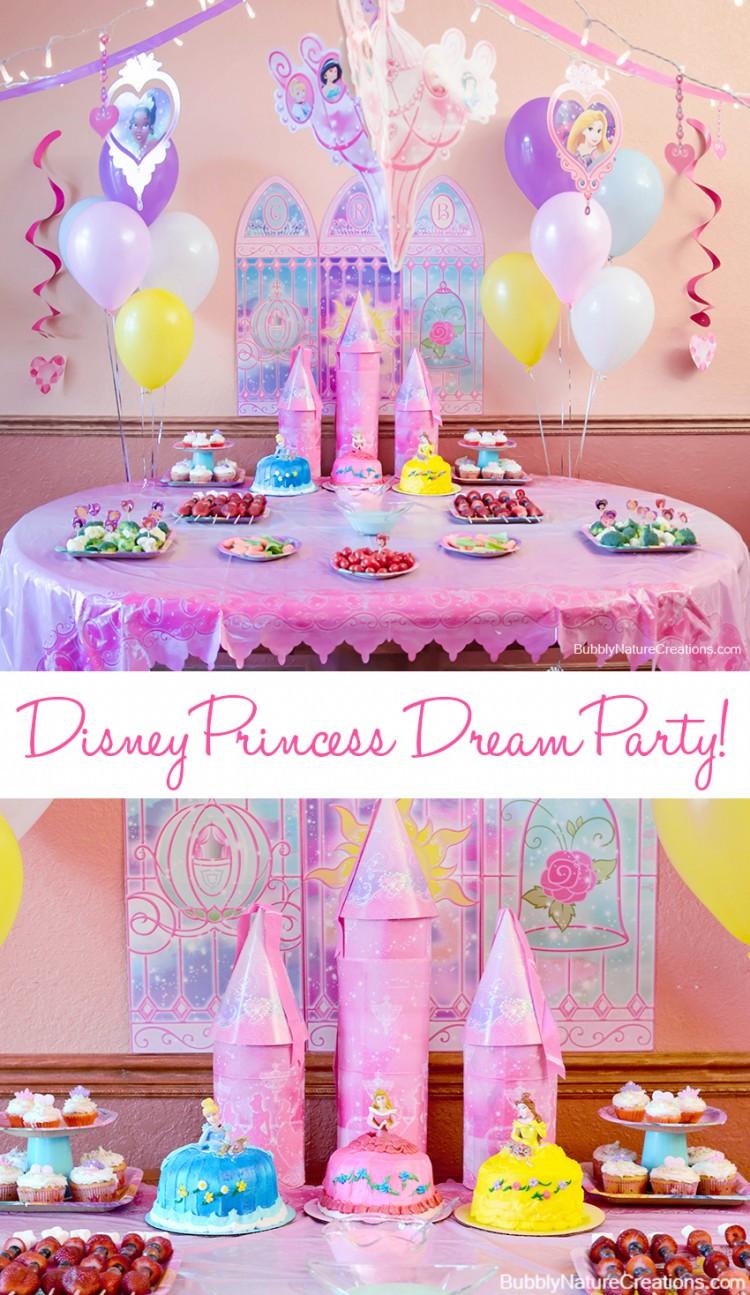 Disney Birthday Decorations  Kids party disney princesses
