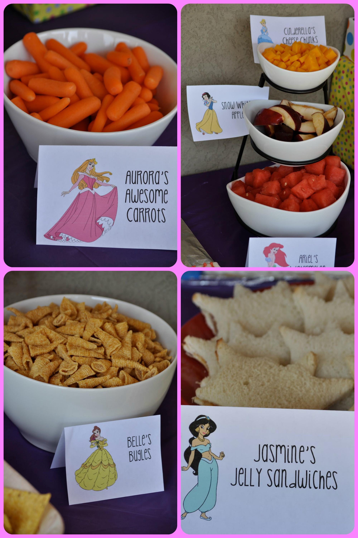 Disney Princess Party Food Ideas  Disney Princess Birthday Party events to CELEBRATE