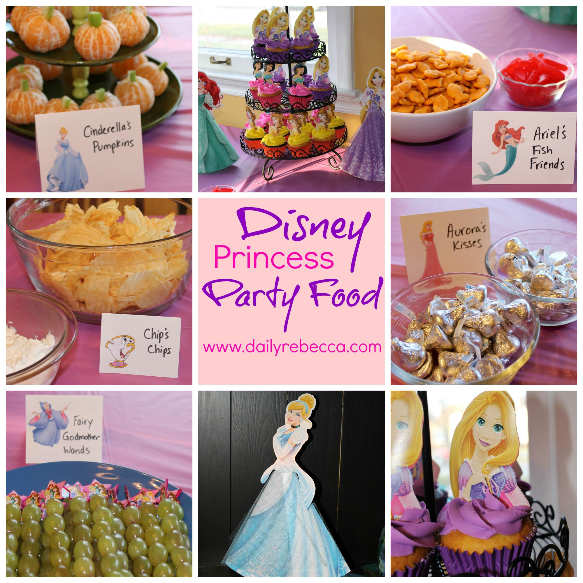 Disney Princess Party Food Ideas  Avery Turns Two A Disney Princess Party Daily Rebecca