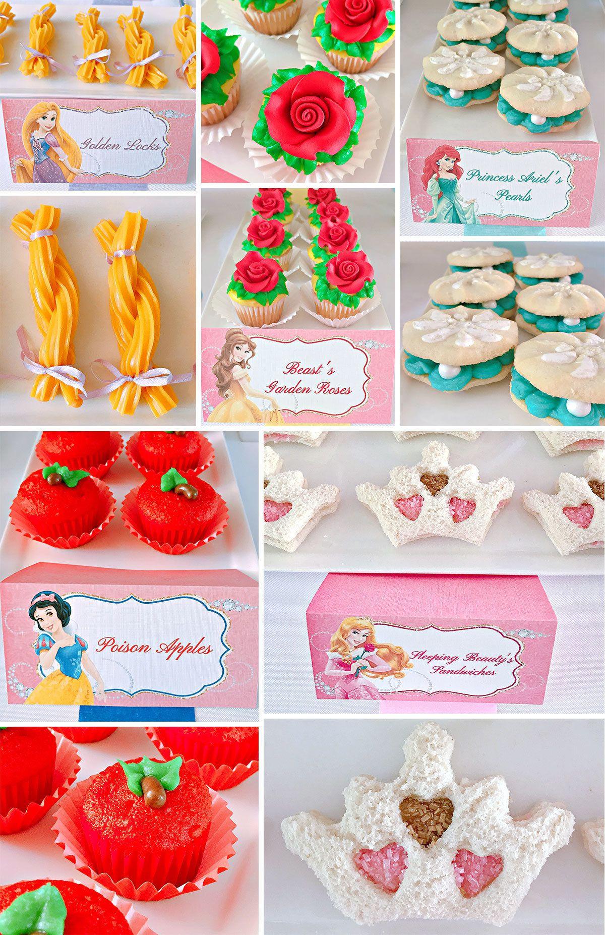 Disney Princess Party Food Ideas  Disney Princess Party Ideas