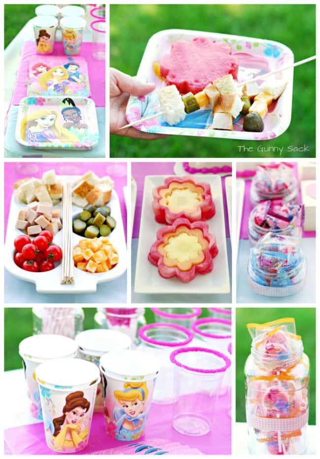Disney Princess Party Food Ideas  Princess Party Ideas A Disney Princess Dream Celebration