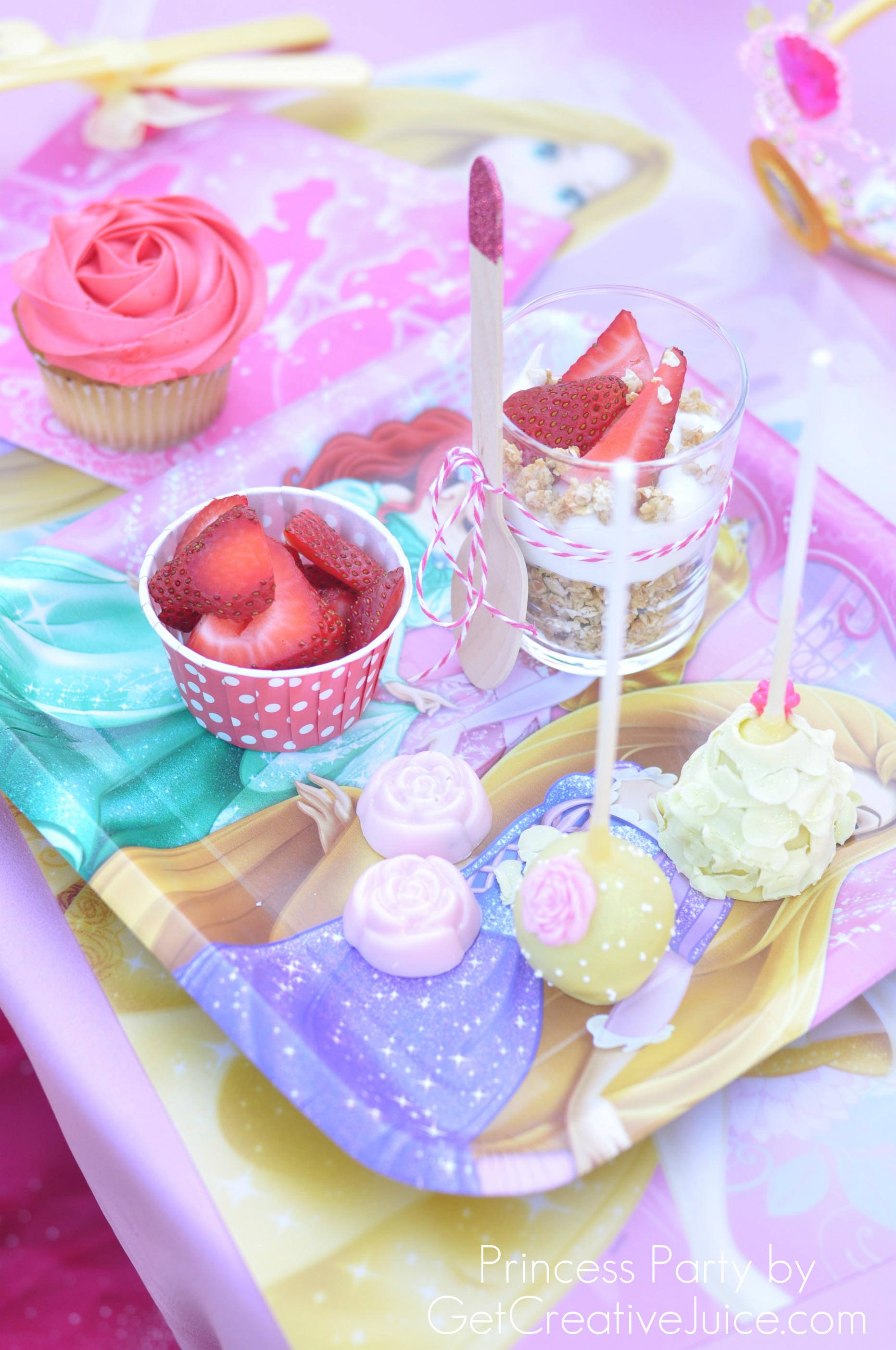 Disney Princess Party Food Ideas  Disney Princess Party with Belle Part 2 Creative Juice