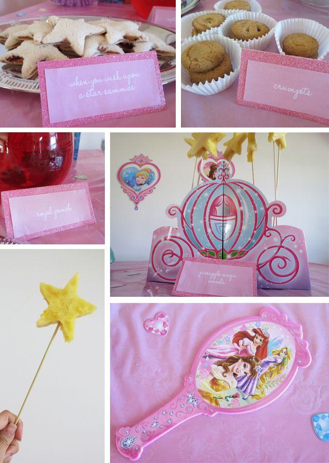 Disney Princess Party Food Ideas  1000 ideas about Princess Party Foods on Pinterest