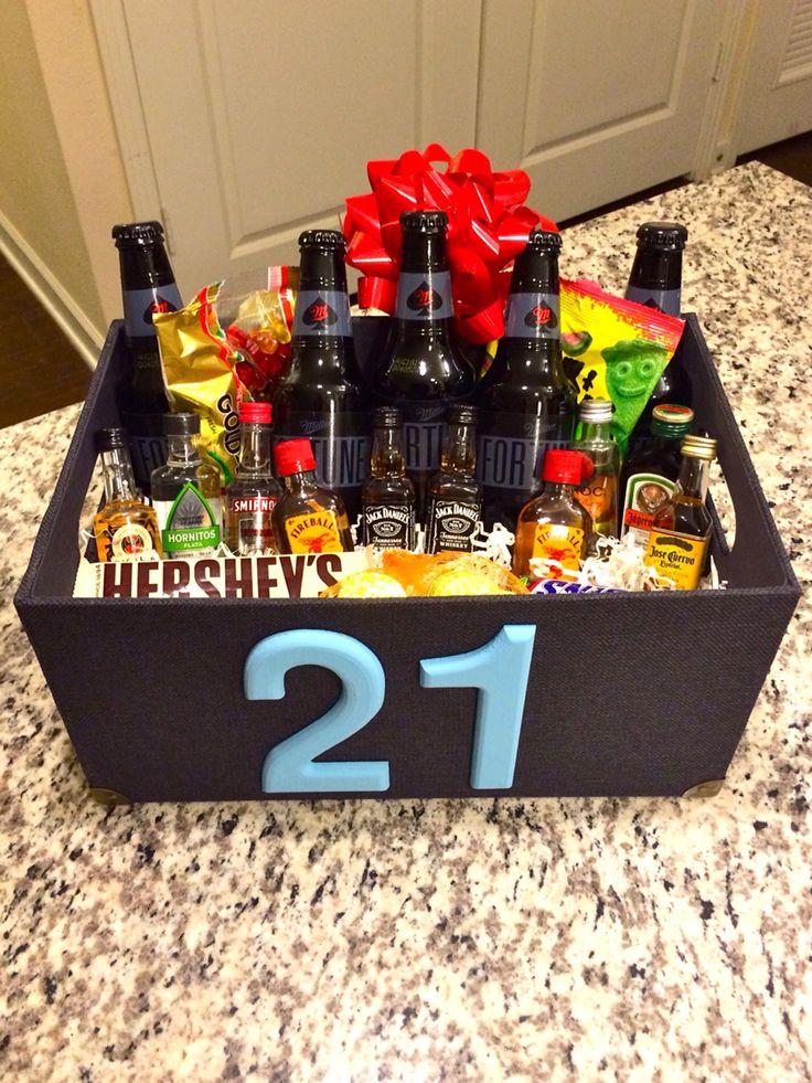 DIY 21St Birthday Gifts  25 best ideas about 21 Birthday Presents on Pinterest