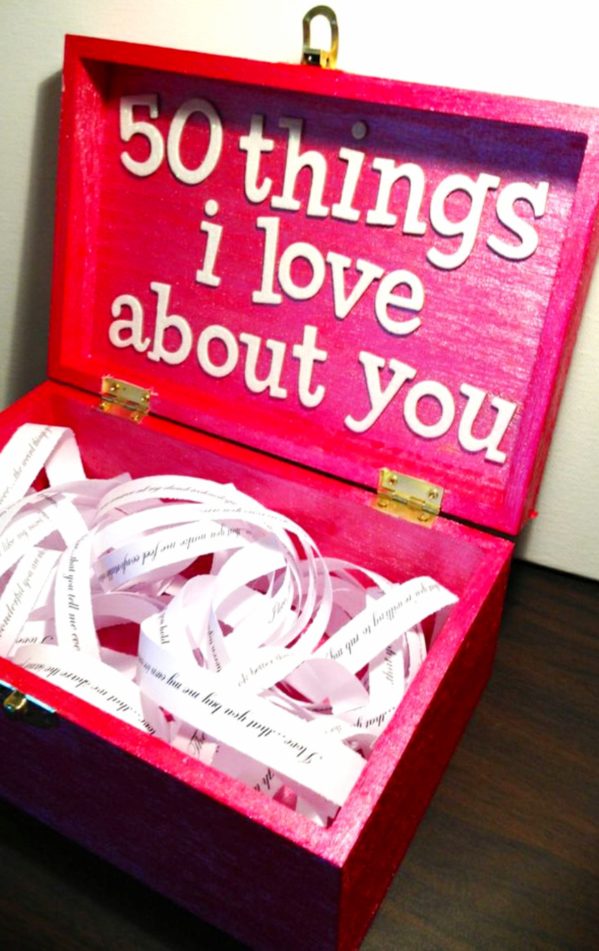 DIY Anniversary Gifts For Him  26 Homemade Valentine Gift Ideas For Him DIY Gifts He