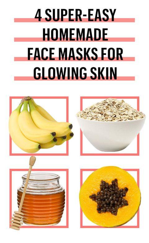 DIY At Home Face Mask  6 Easy DIY Face Mask Recipes Best Homemade Face Masks