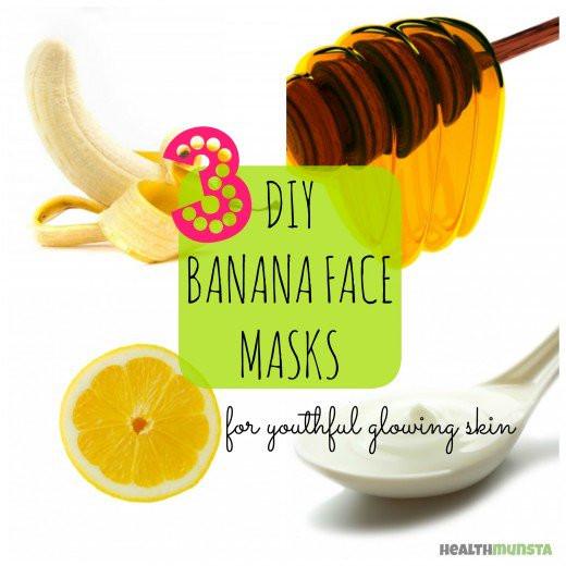 DIY At Home Face Mask  DIY Banana Face Mask Recipes for Radiant Skin