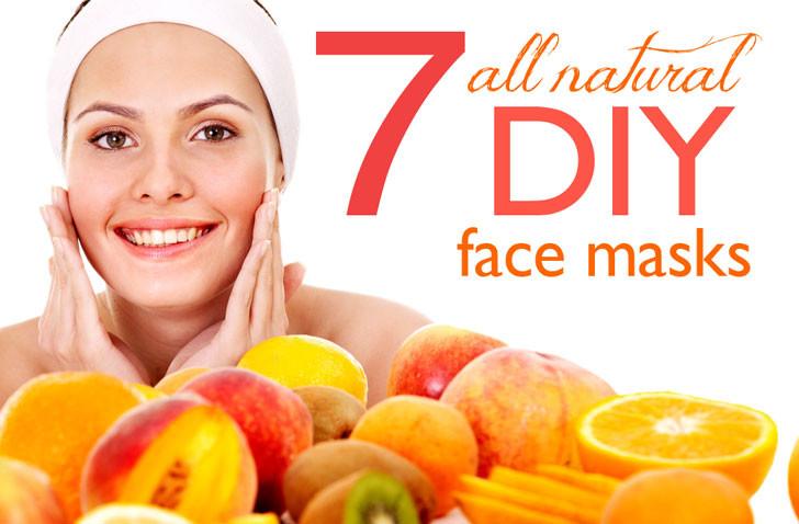 DIY At Home Face Mask  7 DIY face masks for healthy gorgeous spring skin