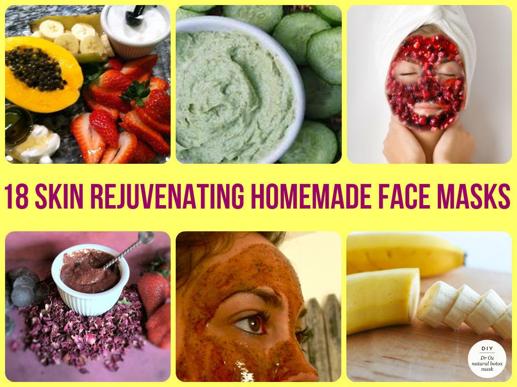DIY At Home Face Mask  18 Amazing Face Masks