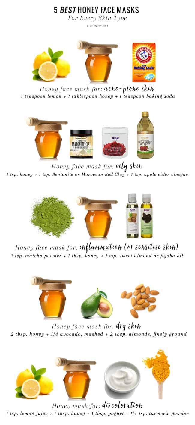 DIY At Home Face Mask  5 Best Honey Face Masks For Every Skin Type
