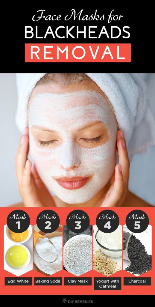 DIY At Home Face Mask  5 Best Face Masks for Blackheads Removal