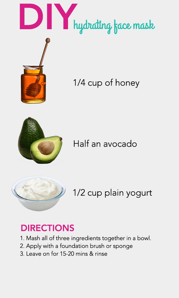 DIY At Home Face Mask  DIY Hydrating Face Mask s and for
