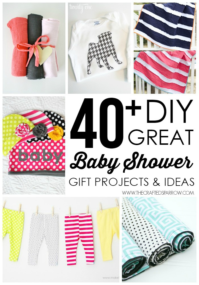DIY Baby Girl Gifts  40 DIY Baby Shower Gift Ideas