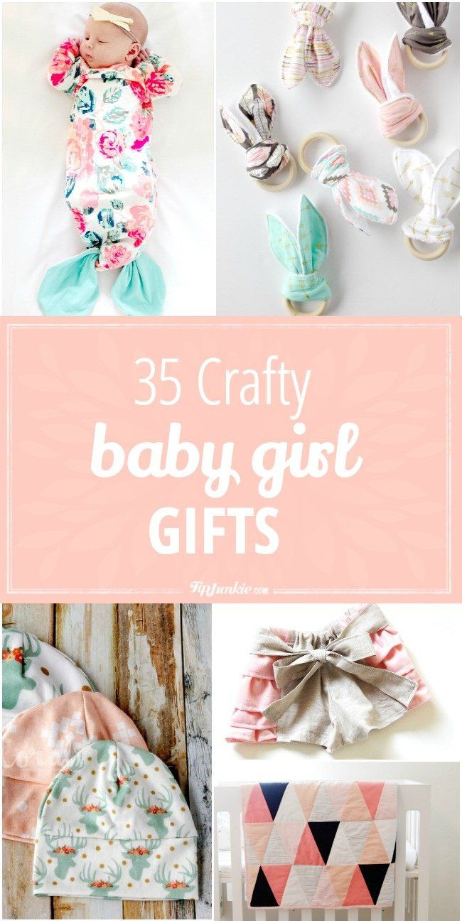 DIY Baby Girl Gifts  Best 25 Homemade baby ts ideas on Pinterest