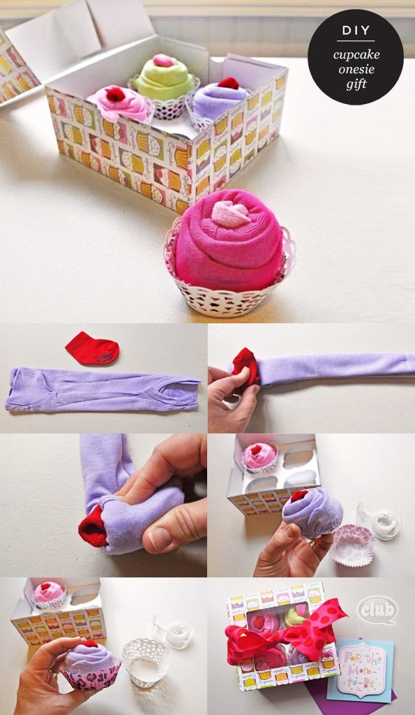 DIY Baby Girl Gifts  Baby Shower Ideas for Gifts and Decorations Yay
