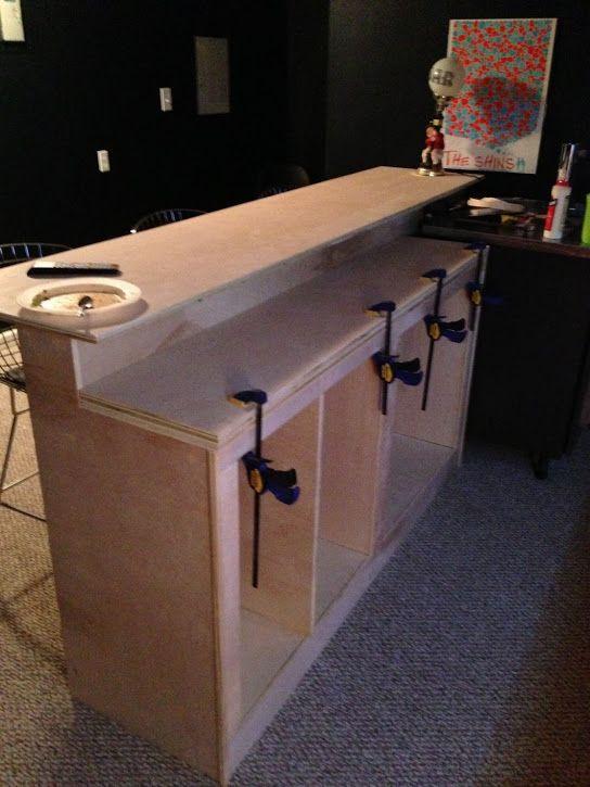 DIY Bar Plan  52 Basement Bar Build Bar Build The O 039 Shea Family
