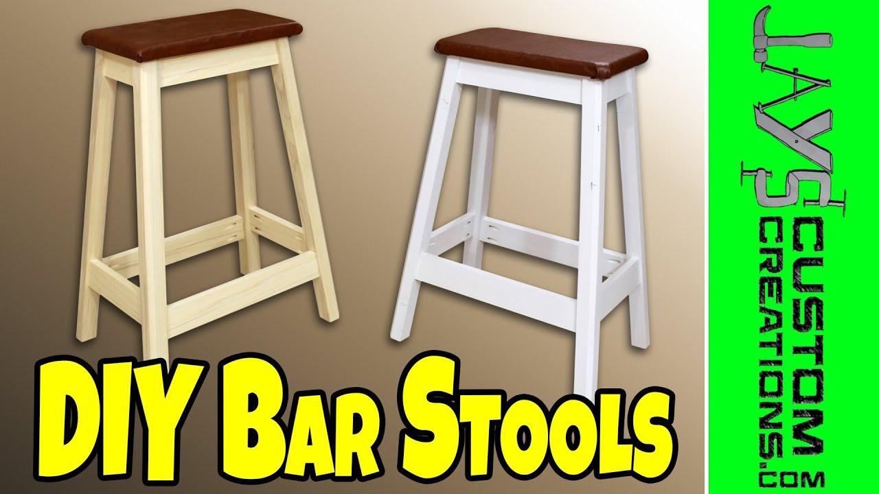 DIY Bar Stools Plans  Easy DIY Bar Stool 130