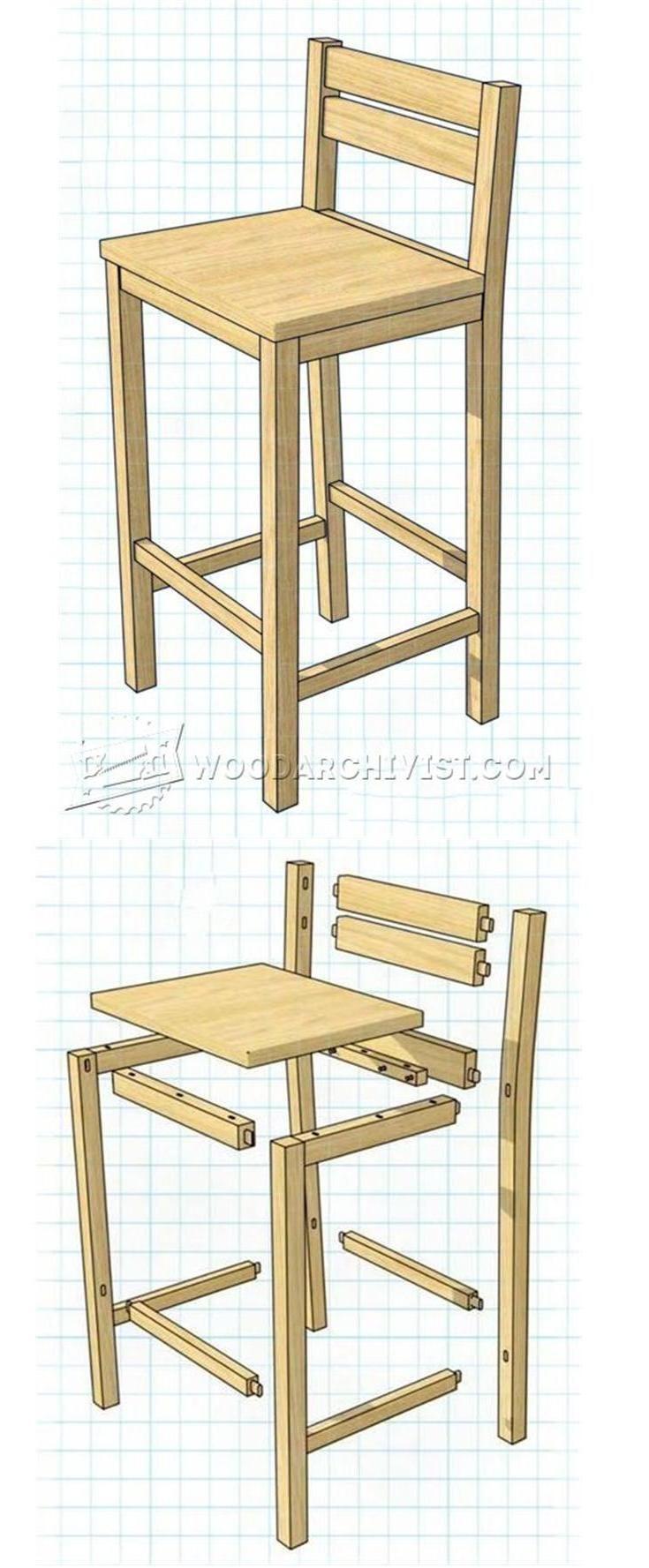DIY Bar Stools Plans  Best 20 Diy bar stools ideas on Pinterest