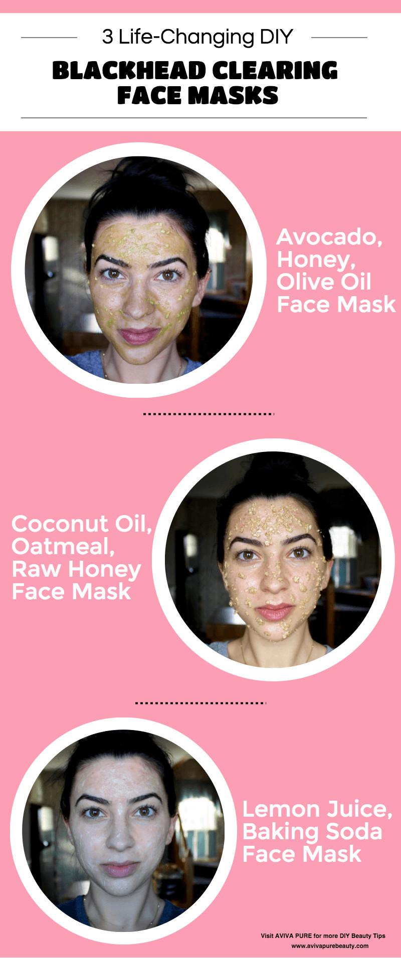 DIY Blackhead Mask  DIY Face Masks for Blackheads