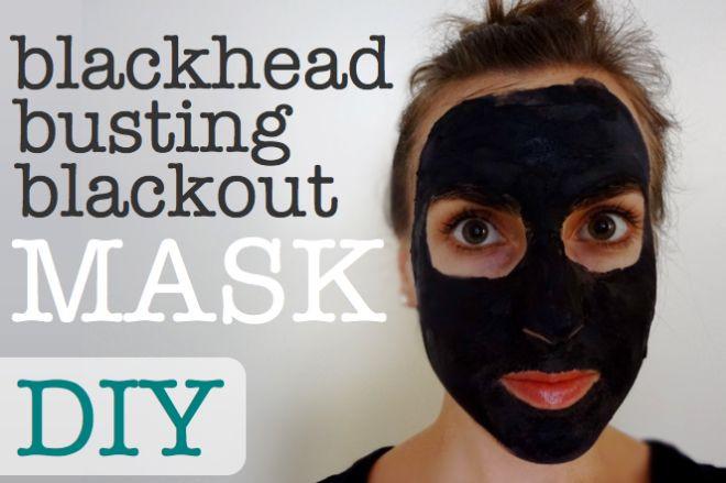 DIY Blackhead Mask  DIY All Natural Blackhead Busting Blackout Mask