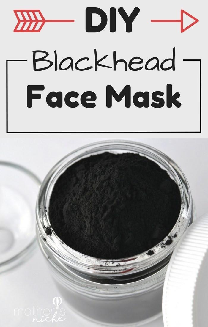 DIY Blackhead Mask  DIY Face mask recipe How to Get Rid of Blackheads