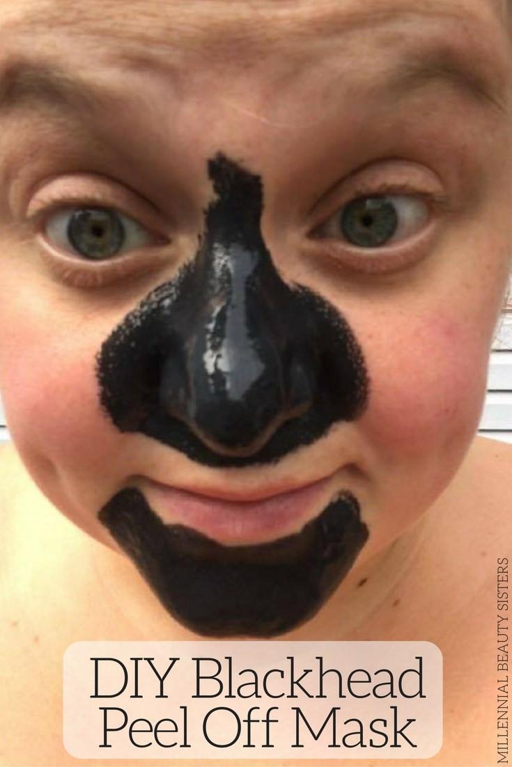 DIY Blackhead Mask  DIY Blackhead Peel f Mask