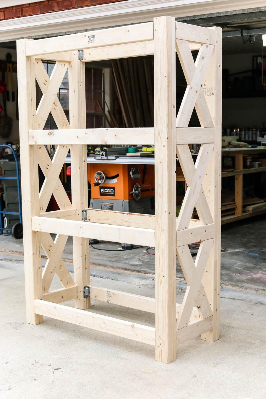 DIY Bookshelf Plans  DIY Bookshelf with Simpson Strong Tie