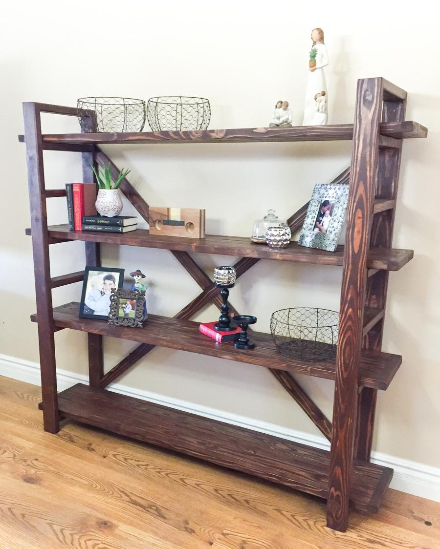 DIY Bookshelf Plans  DIY Bookshelf
