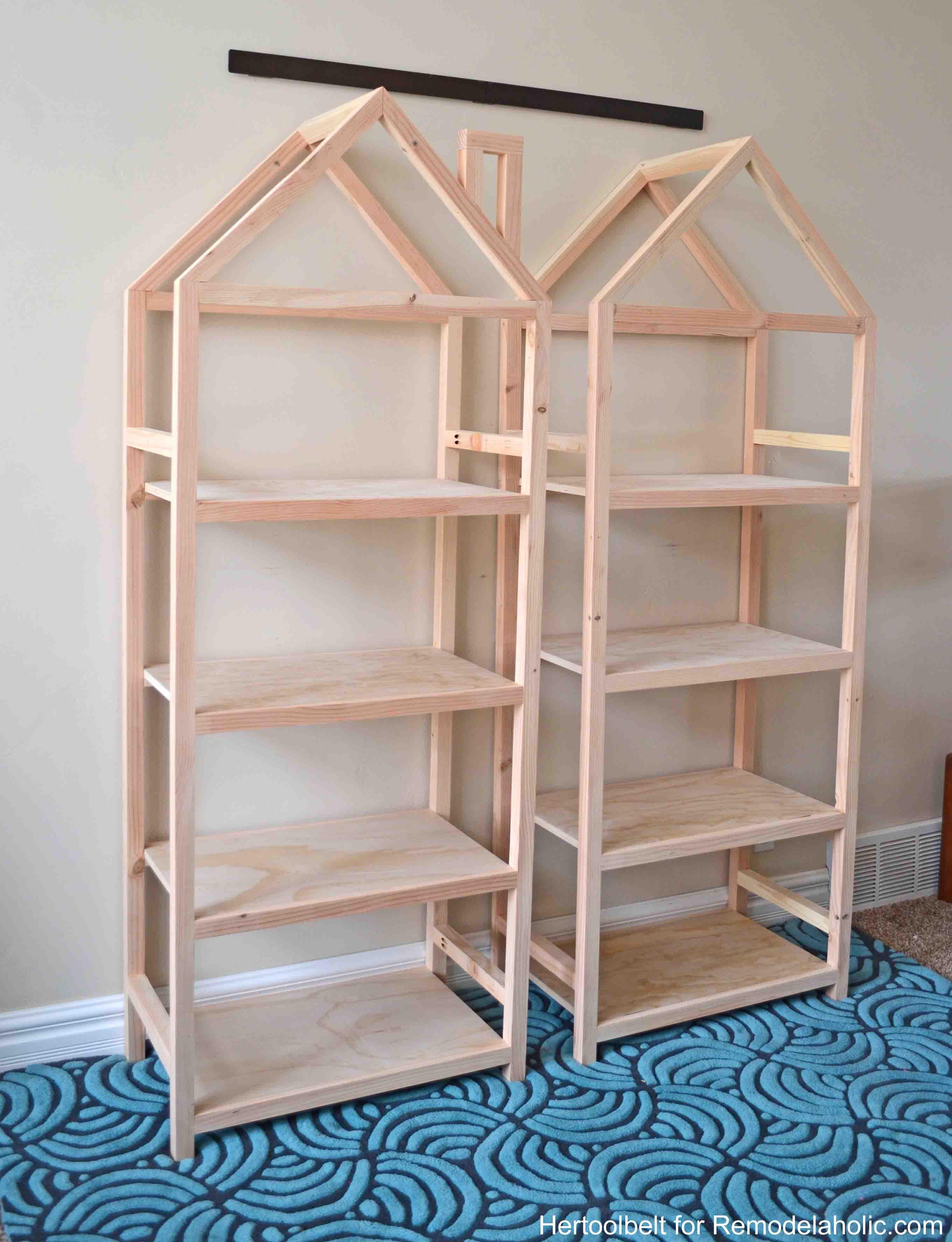 DIY Bookshelf Plans  Remodelaholic