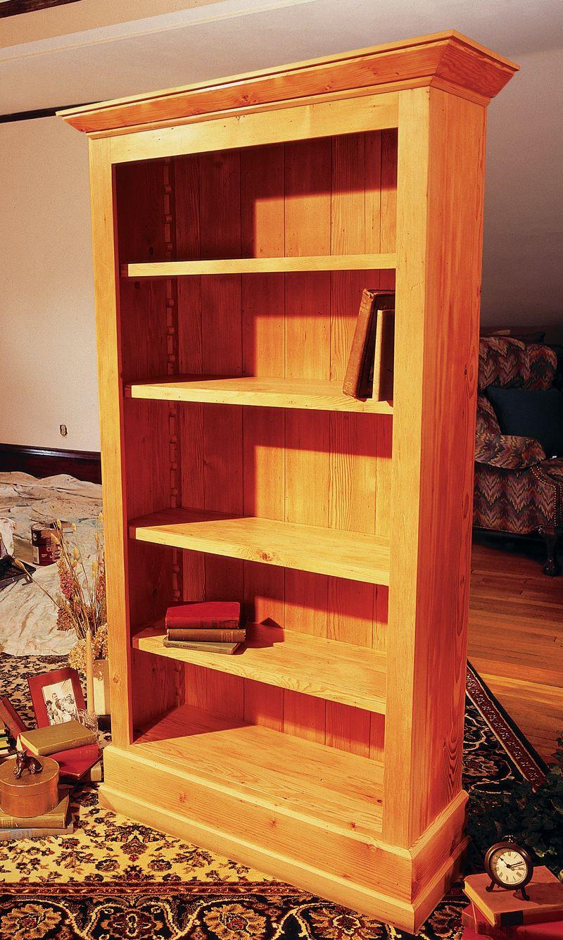 DIY Bookshelf Plans  Cottage Bookcase