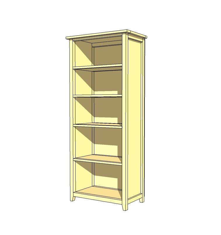 DIY Bookshelf Plans  Ana White