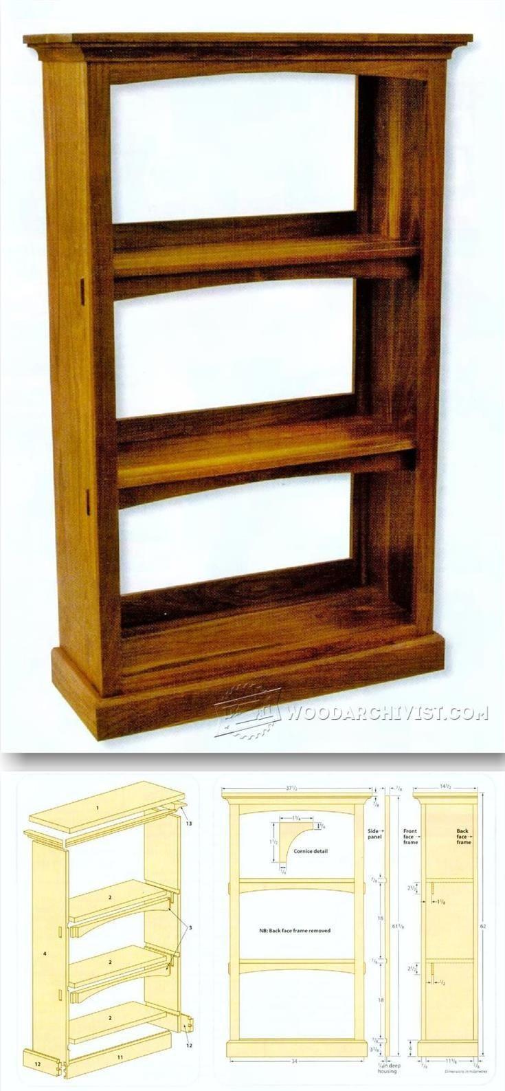 DIY Bookshelf Plans  Best 20 Bookcase plans ideas on Pinterest