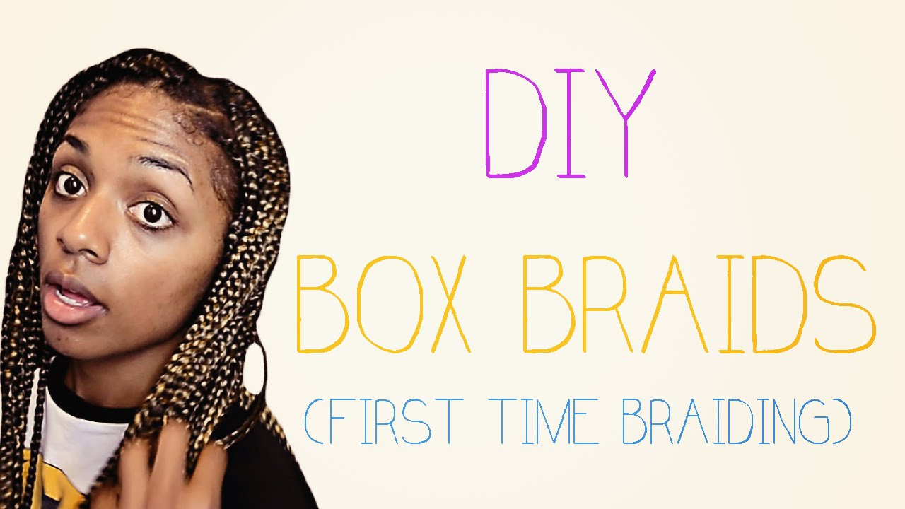 DIY Box Braids  DIY Box Braids
