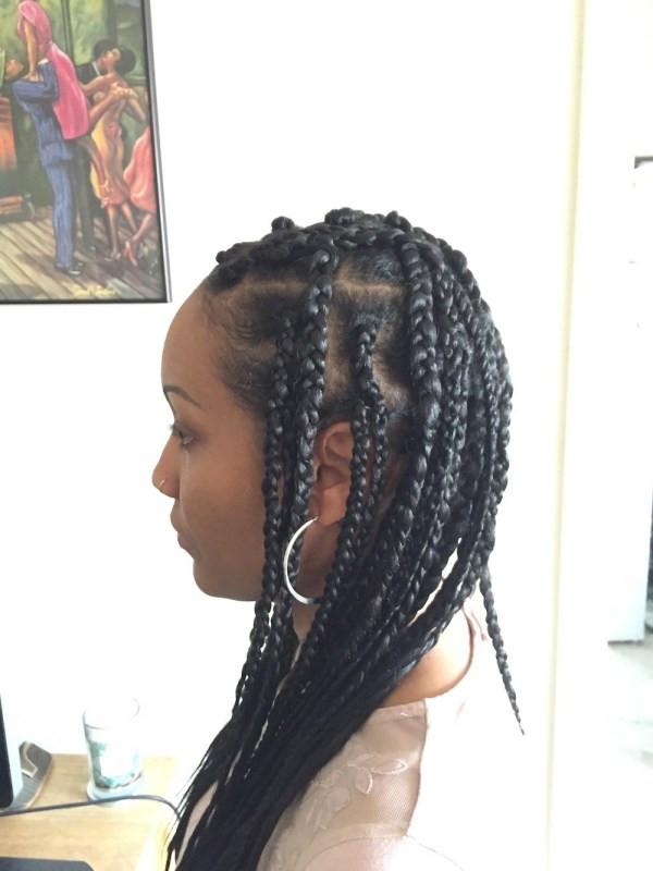 DIY Box Braids  DIY Box Braids Summer Protective Hairstyle yo toi