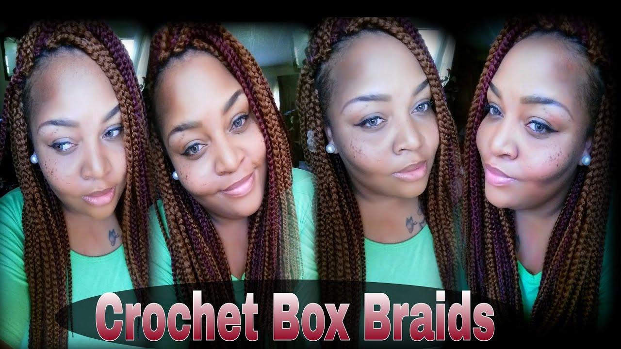 DIY Box Braids  DIY CROCHET BOX BRAIDS FREETRESS BOX BRAIDS TUTORIAL