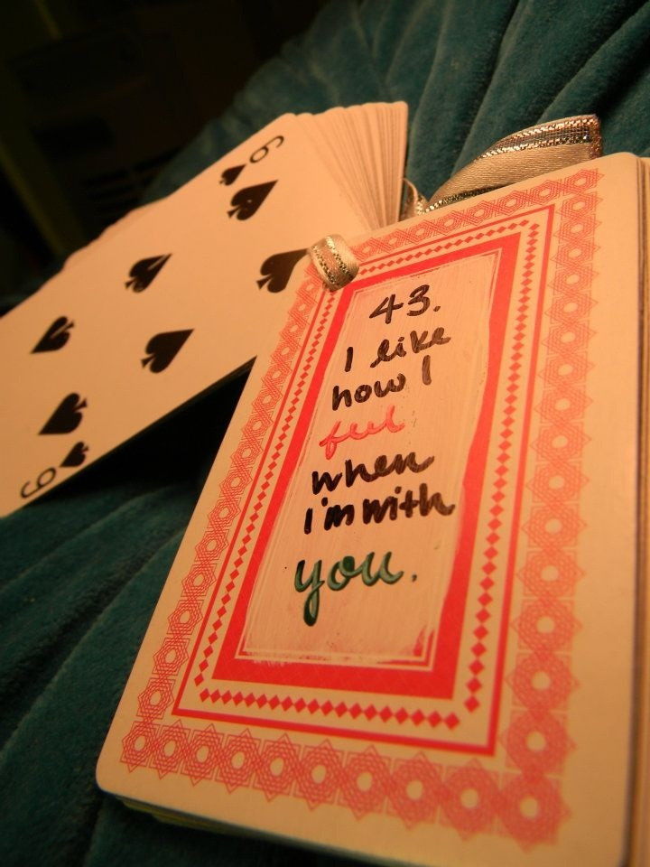 "DIY Boyfriend Christmas Gifts  craft DIY 43 of ""52 Reasons Why I Like You"" A Christmas"