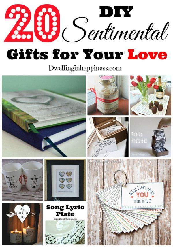 DIY Boyfriend Christmas Gifts  25 unique Sentimental ts for men ideas on Pinterest