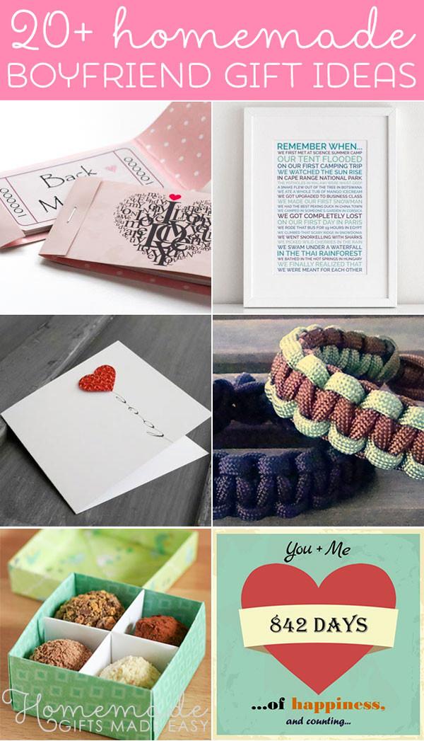 DIY Boyfriend Christmas Gifts  Best Homemade Boyfriend Gift Ideas Romantic Cute and