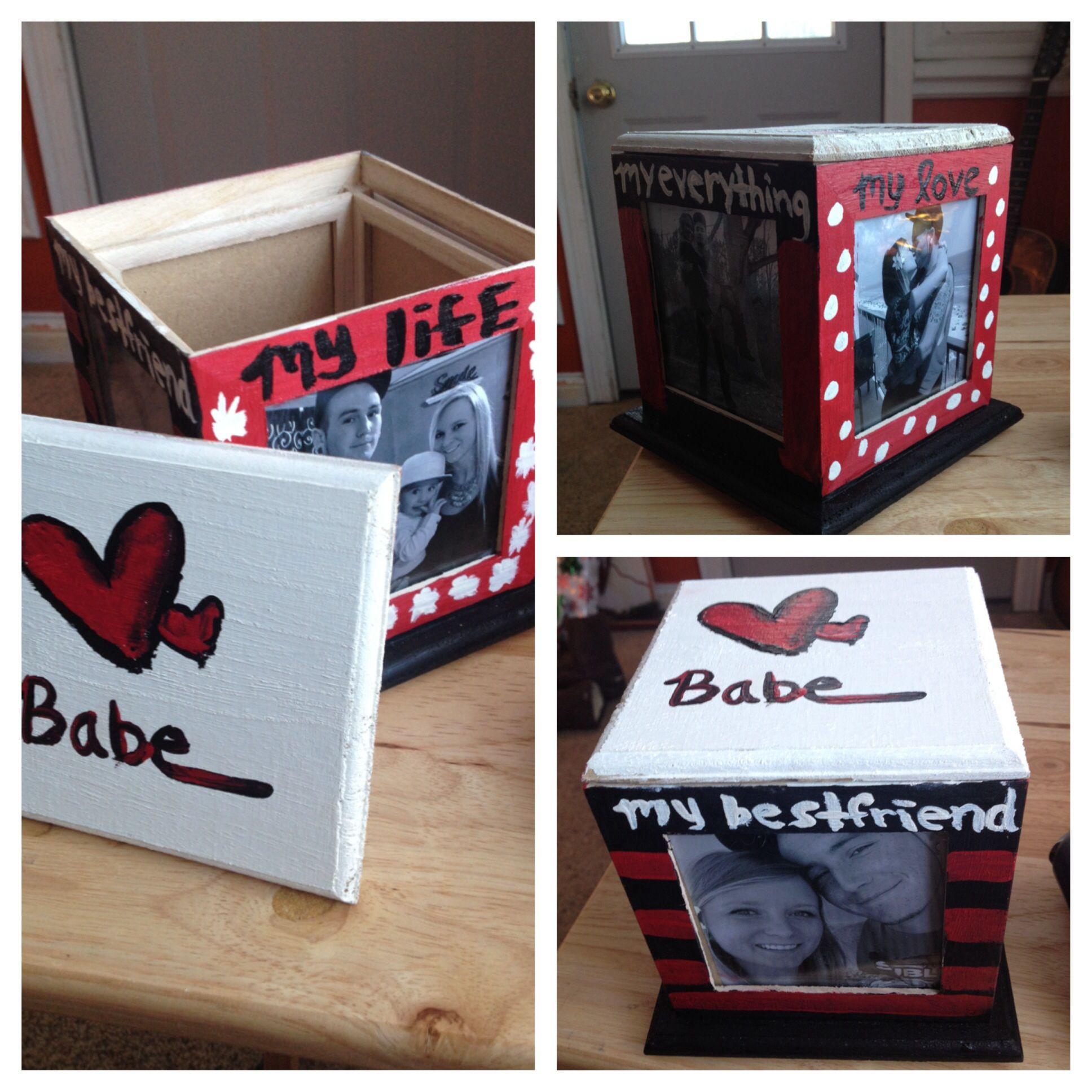 DIY Boyfriend Christmas Gifts  Cheap DIY present for boyfriend made this for Dan for