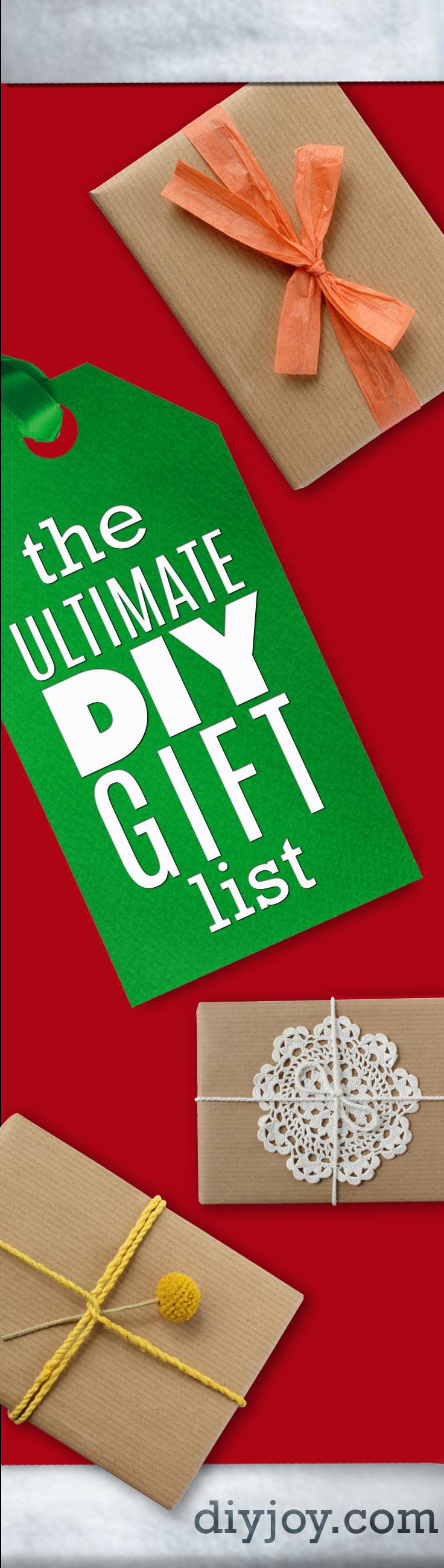 DIY Boyfriend Christmas Gifts  The Ultimate DIY Christmas Gifts list