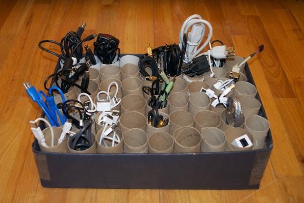 DIY Cable Management Box  cable management diy 0025