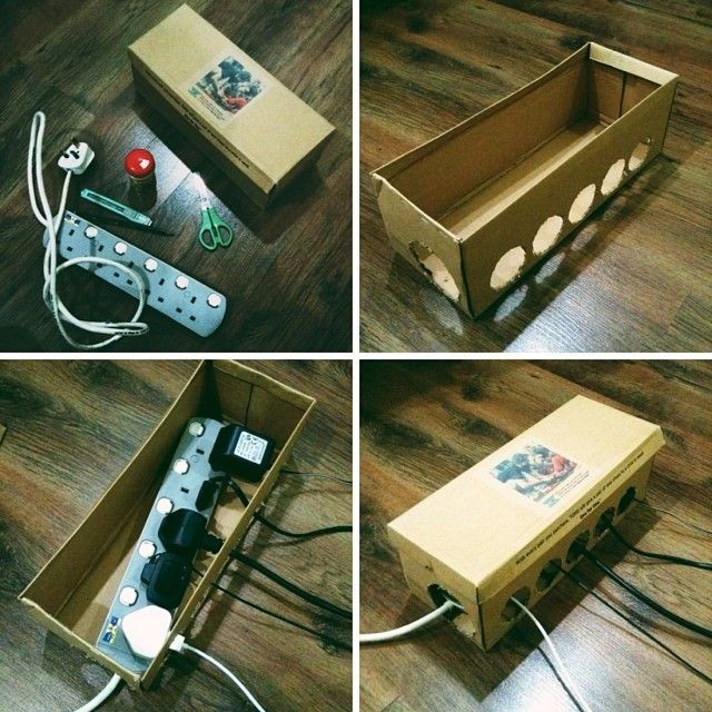 DIY Cable Management Box  Pin by Hariz Haziq on DIY