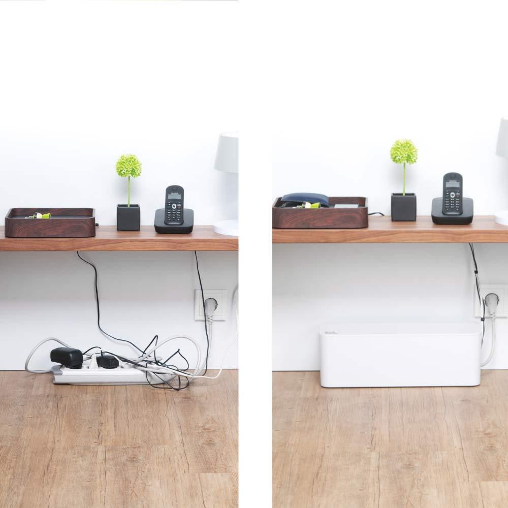 DIY Cable Management Box  Sakit Mata Tengok Wayar Berselirat Jom DIY Cable